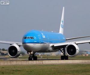 Puzle KLM Royal Dutch Airlines, Países Baixos