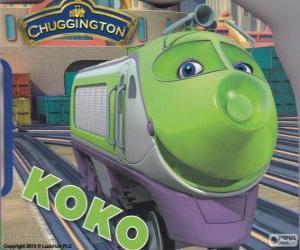 Puzle Koko, locomotiva elétrica de Chuggington