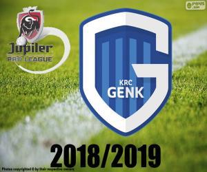 Puzle KRC Genk, campeão 2018-2019