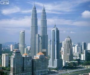 Puzle Kuala Lumpur, Malásia