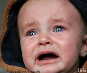 Puzle Lágrimas de bebê