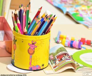 Puzle Lápis de cor