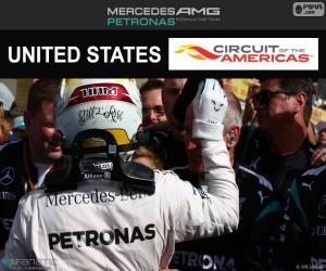 Puzle L. Hamilton, GP Estados Unidos 16