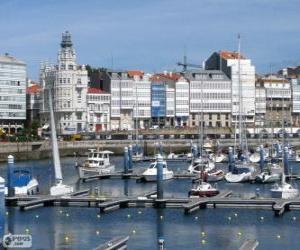 Puzle La Coruña, Espanha