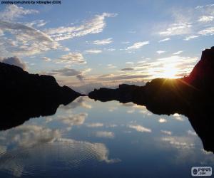 Puzle Lac Des Vaux, Suíça