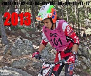 Puzle Laia Sanz, o campeão do mundo de trial de 2013