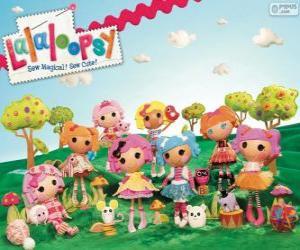 Puzle Lalaloopsy, as bonecas de pano