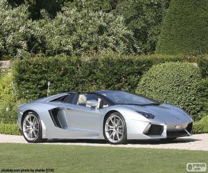 Puzle Lamborghini Aventador Roadster