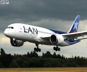 Puzle LAN Airlines, é uma companhia aérea chilena