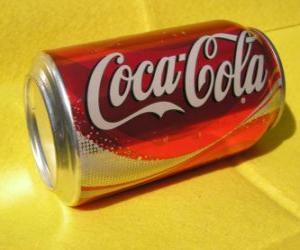 Puzle Lata de Coca-Cola