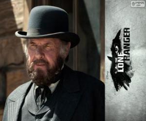 Puzle Latham Cole (Tom Wilkinson) no filme O Cavaleiro Solitário