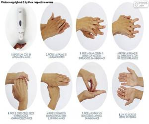 Puzle Lavagem de mãos
