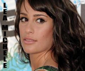 Puzle Lea Michele, cantora americana