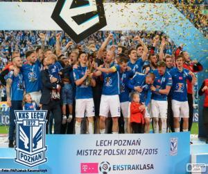 Puzle Lech Poznań campeão 14-15