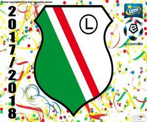 Puzle Legia Varsóvia, Ekstraklasa 17-18