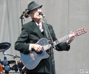 Puzle Leonard Cohen (1934-2016)