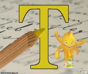 Puzle Letra grega Tau