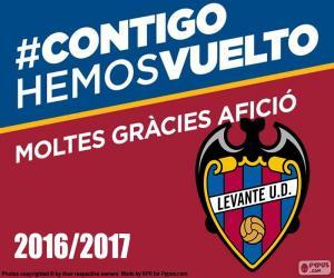 Puzle Levante UD 2016-2017