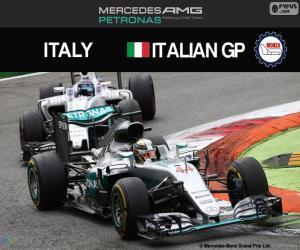 Puzle Lewis Hamilton, G.P Itália 2016