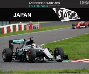 Puzle Lewis Hamilton, GP Japão 2016