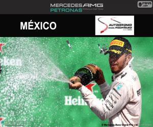 Puzle Lewis Hamilton, GP México 2016