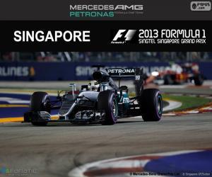 Puzle Lewis Hamilton, GP Singapura 2016