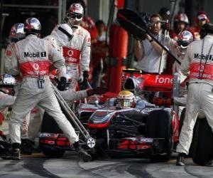 Puzle Lewis Hamilton - McLaren - Suzuka 2010