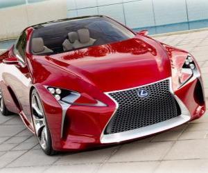Puzle Lexus LF-LC Hybrid Sport Coupe Concept