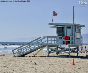 Puzle Lifesacor na praia