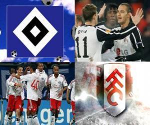 Puzle Liga Europa da UEFA, semifinal 2009-10, Hamburger SV - FC Fulham