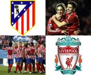 Puzle Liga Europa da UEFA, semifinal 2009-10, Atlético de Madrid - Liverpool FC