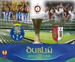 Puzle Liga Europa Final 2010-11 Porto vs Braga