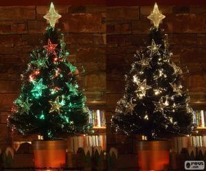 Puzle Linda árvore de Natal
