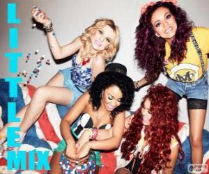 Puzle Little Mix, quarteto musical feminino britânico