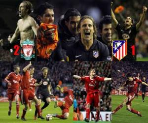 Puzle Liverpool FC 2 - Atletico de Madrid 1