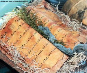 Puzle Livro de feitiços
