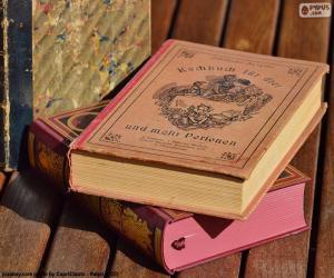 Puzle Livros antigos