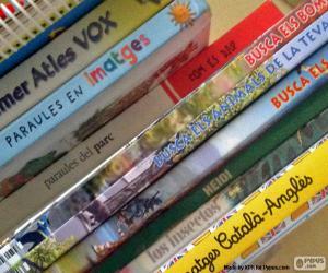 Puzle Livros didáticos