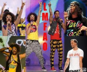 Puzle LMFAO foi um grupo americano de rap e electro hop