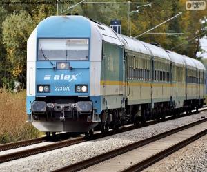 Puzle Locomotiva Alex Hércules Classe 233