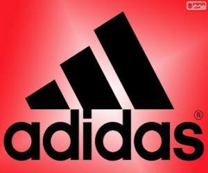 Puzle Logo Adidas