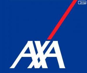 Puzle Logo AXA