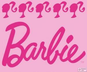 Puzle Logo Barbie