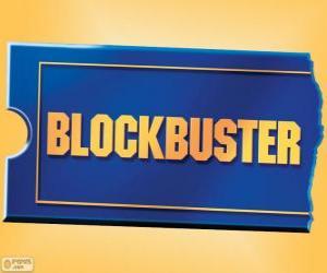 Puzle Logo Blockbuster