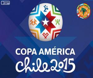 Puzle Logo Copa América Chile 2015