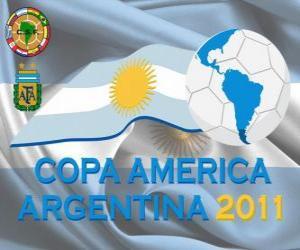 Puzle Logo Copa América, Argentina 2011