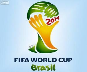 Puzle Logo da Copa do Mundo FIFA do Brasil 2014