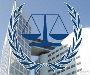 Puzle Logo da CPI, Corte Penal International