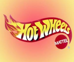 Puzle Logo da Hot Wheels da Mattel