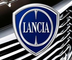 Puzle Logo da Lancia, marca italiana